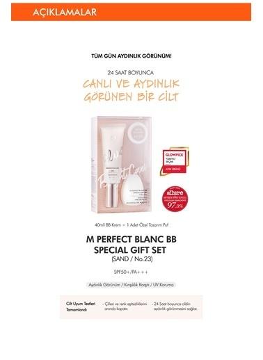 Missha Ton Eşitleyen Aydınlatıcı Bb Krem Seti 40Ml+1Pcs M Perfect Blanc Bb Special Gift Set (Sand / No.23) Renksiz